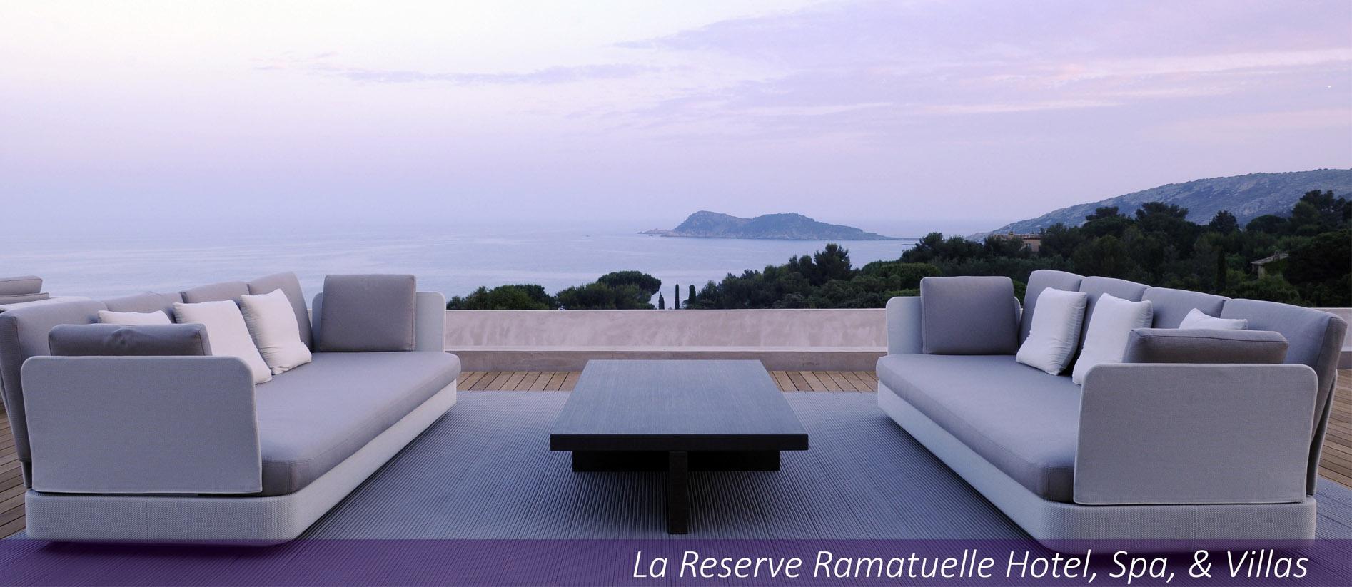 La Reserve Ramatuelle and La Reserve Paris Spring News.