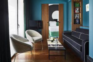 Saint-Roch Suite - Living Area 1