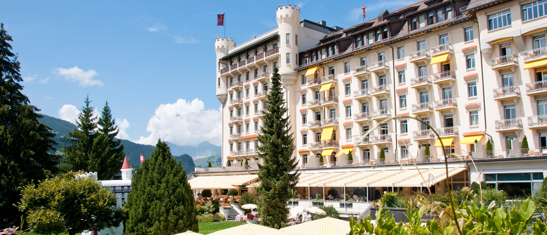 Summer at Gstaad Palace