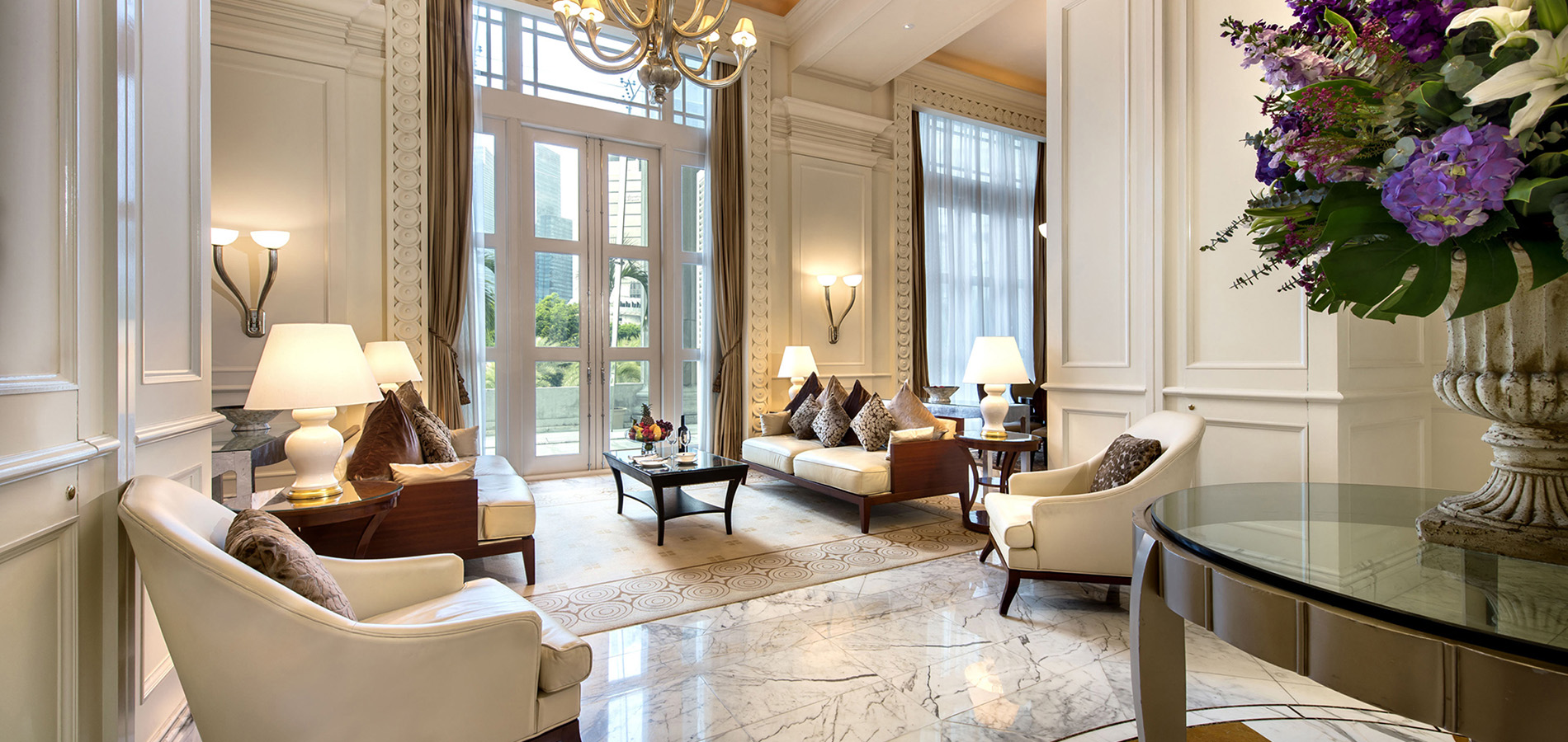 Presidential Suite at the Fullerton Hotel Singapore