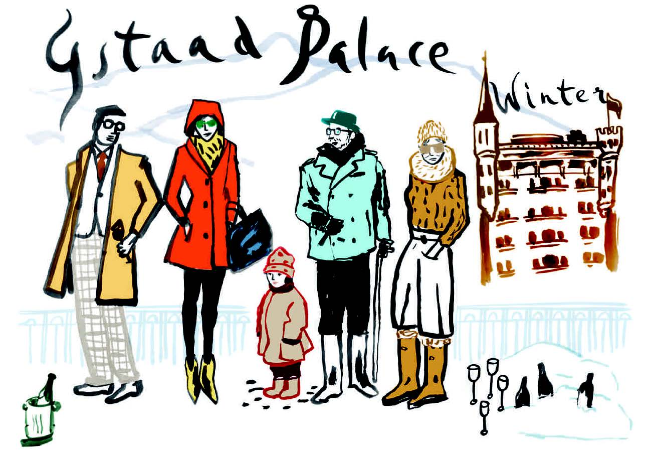 Winter Highlights at the Gstaad Palace