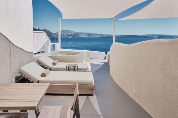 Wet Allure Suite Outdoor Terrace